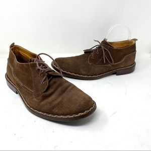 John Varvatos Brown Crosby Heritage Chukka Boot